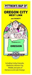 Oregon City, Oregon Vicinity by Pittmon Map Company