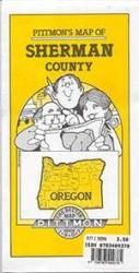 Sherman County, Oregon by Pittmon Map Company