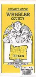 Wheeler County, Oregon by Pittmon Map Company