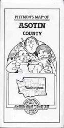 Asotin County, Washington by Pittmon Map Company