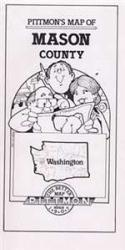 Mason County, Washington by Pittmon Map Company