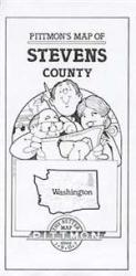 Stevens County, Washington by Pittmon Map Company