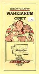 Wahkiakum County, Washington by Pittmon Map Company