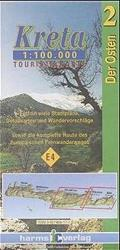Eastern Crete Touring Map by Harms IC Verlag