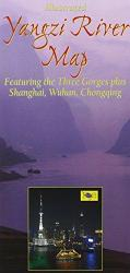 Yangzi River Map with Three Gorges by Odyssey Publications
