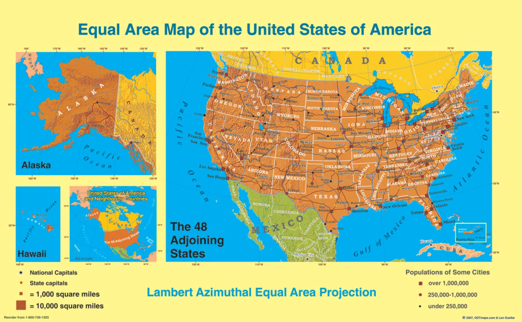 United States, Equal Area Projection, laminated by ODT, Inc. on ghana area map, plains area map, us and canada time zone map, call area map, german area map, seattle university area map, mountaineer country area map, madagascar area map, sand hill area map, southwest area map, uzbekistan area map, panhandle area map, rhode island area map, international area map, west tennessee area map, india area map, north america area map, qatar area map, sonoran desert area map, kurdistan area map,
