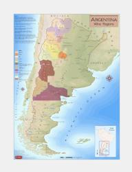 Argentina, Wine Regions by Vinmaps