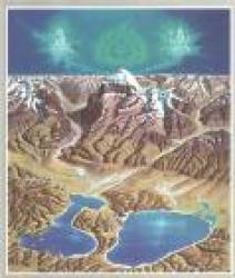 Kailash, Tibet, Panorama Map by Gecko Maps