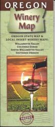 Oregon, Winery Map by The Map Company