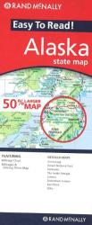 Alaska, Easy to Read by Rand McNally