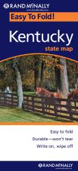 Kentucky, Easy to Fold by Rand McNally