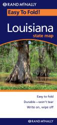 Louisiana, Easy to Fold by Rand McNally