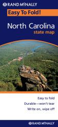 North Carolina, Easy to Fold by Rand McNally