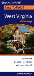 West Virginia, Easy to Fold by Rand McNally