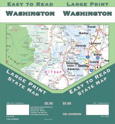 Washington, large print by GM Johnson