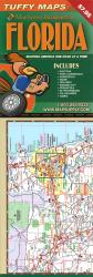 Florida, Laminated Tuffy Map with City Insets by Tuffy Maps