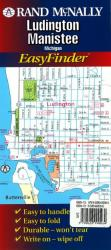 Ludington and Manistee, Michigan, EasyFinder by Rand McNally