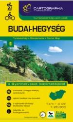 Budai Mountains, Hungary by Cartographia