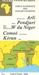 Africa, Western, National Parks by Institut Geographique National