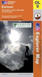 Exmoor, United Kingdom, Explorer Map 9 by Ordnance Survey