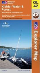Kielder Water, United Kingdom, Explorer Map 42 by Ordnance Survey