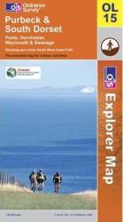 Purbeck and South Dorset, United Kingdom, Explorer Map 15 by Ordnance Survey