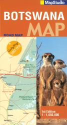 Botswana, Explore Map by Map Studio