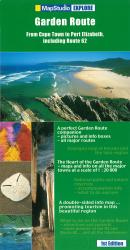 Garden Route, South Africa, Explorer Map by Map Studio