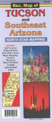 Recreation Map of Tucson and Southeast Arizona by North Star Mapping