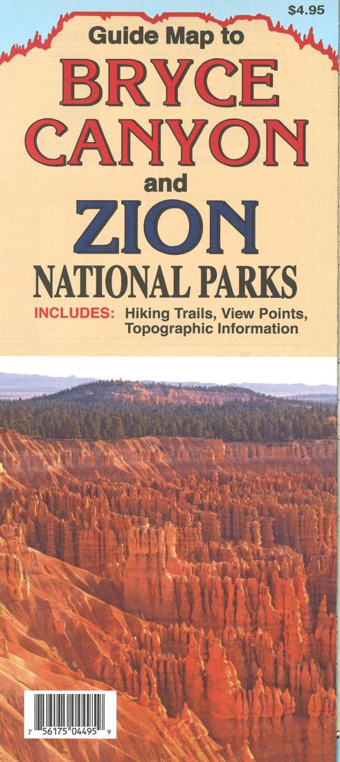 bryce canyon national park national geographic trails illustrated map