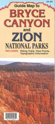 Bryce Canyon and Zion National Parks Guide Map by North Star Mapping