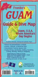 Guam, Guide Map (English edition) by Frankos Maps Ltd.