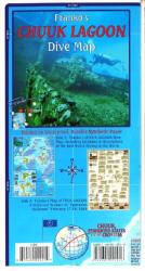 Chuuk (Truk) Lagoon Dive Map by Frankos Maps Ltd.