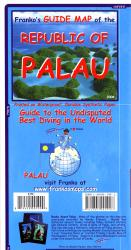 Palau Guide Map by Frankos Maps Ltd.
