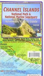 California Map, Channel Islands Guide and Dive, folded, 2011 by Frankos Maps Ltd.