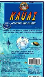 Kauai, Hawaii, Guide Map by Frankos Maps Ltd.