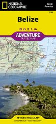 Belize AdventureMap by National Geographic Maps
