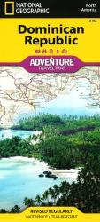 Dominican Republic Adventure Map 3102 by National Geographic Maps
