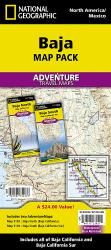 Baja California AdventureMap Pack by National Geographic Maps