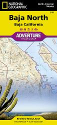 Baja California, North Adventure Map 3103 by National Geographic Maps