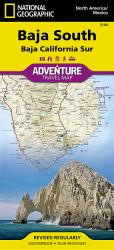Baja California, South Adventure Map 3104 by National Geographic Maps
