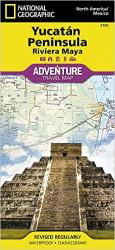 Yucatan, Mexico Adventure Map 3105 by National Geographic Maps