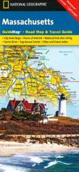 Massachusetts GuideMap by National Geographic Maps