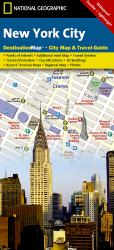 New York City, New York DestinationMap by National Geographic Maps