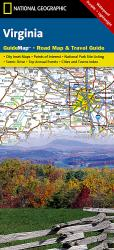 Virginia GuideMap by National Geographic Maps