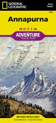Annapurna, Nepal Adventure Map 3003 by National Geographic Maps