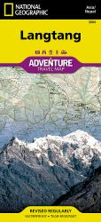 Langtang, Nepal Adventure Map 3004 by National Geographic Maps