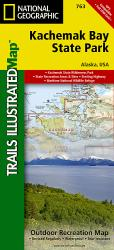 Kachemak Bay State Park, Alaska, Map 763 by National Geographic Maps