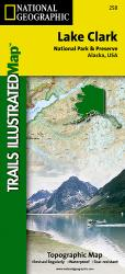 Lake Clark National Park and Preserve by National Geographic Maps