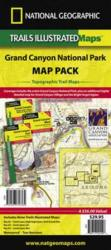 Grand Canyon, Map Pack Bundle by National Geographic Maps